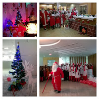 Christmas Celebrations at Work in India