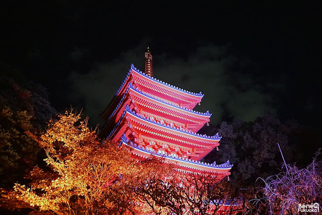 東長寺五重塔、福岡