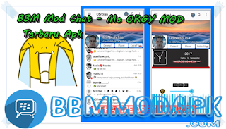 BBM Mod CHAT ME - Transparant Mod Versi 3.3.6.51 Apk