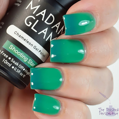 madam glam shooting star swatch