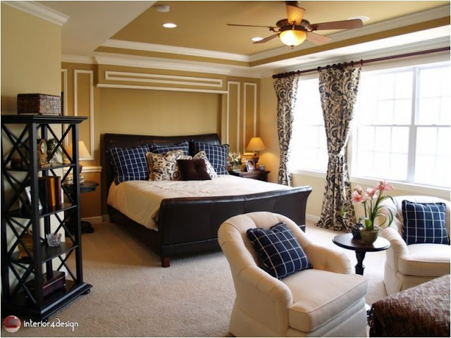 Gypsum Bedroom Designs 4