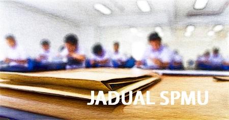 Jadual Peperiksaan SPMU 2018