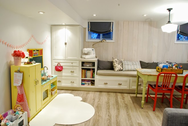 Rambling Renovators | play zone basement