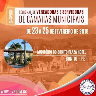 Bonito sediará encontro regional de Vereadoras e Servidoras de Câmaras Municipais