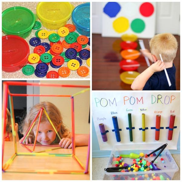 FINE MOTOR ACTIVITIES FOR KIDS (35 simple ideas!) #finemotoractivitiesforkids