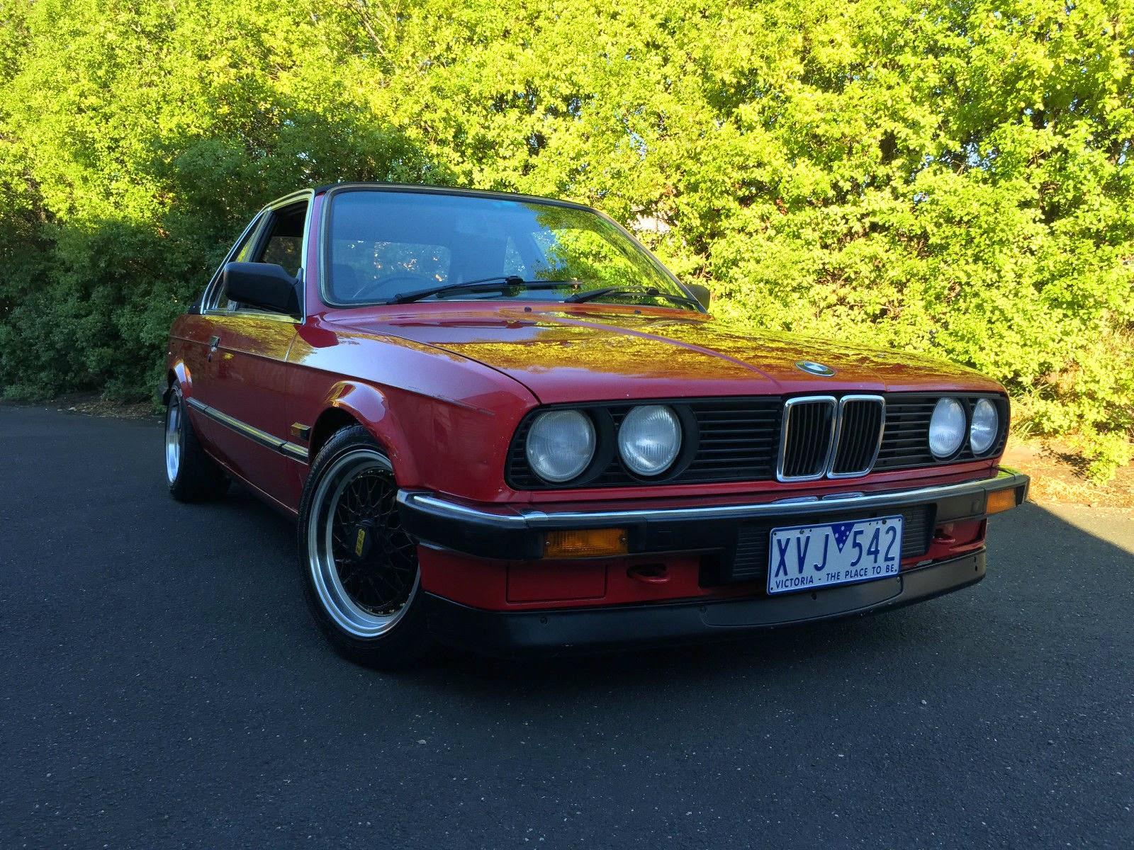 Baurspotting: 1985 BMW E30 318i TC Baur Manual For Sale In