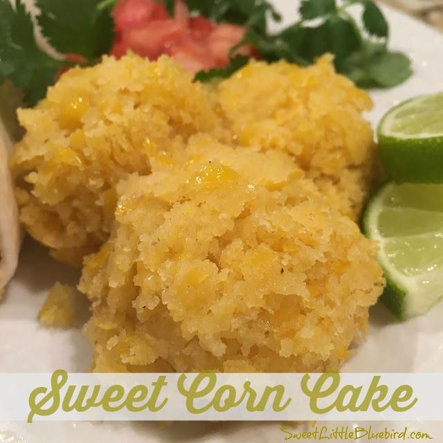 Recipe sweet corn cake