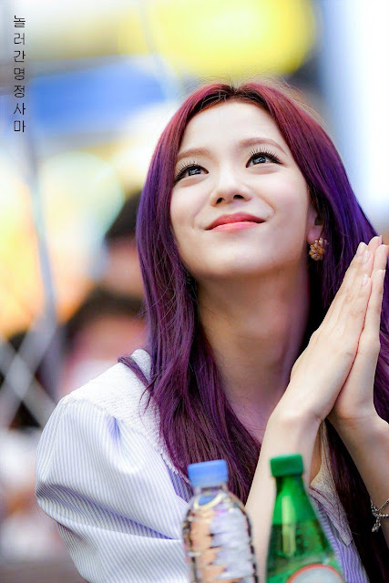 Purple Jisoo BLACKPINK