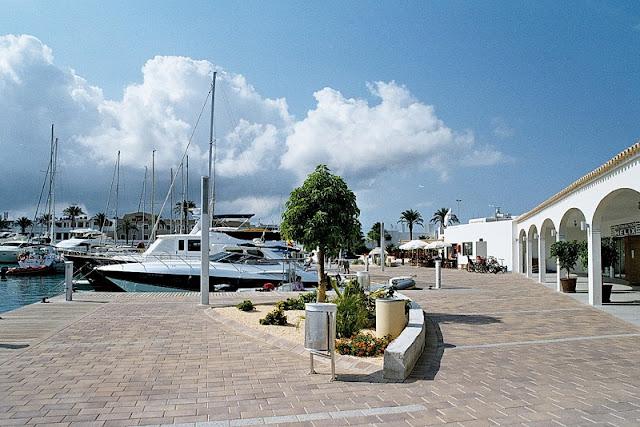 Porto de Savina em Formentera