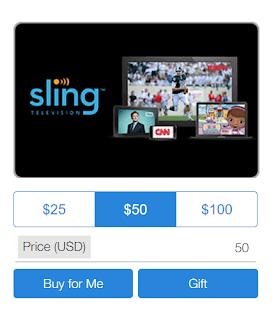 Американский провайдер кабельного телевидения SlingTV