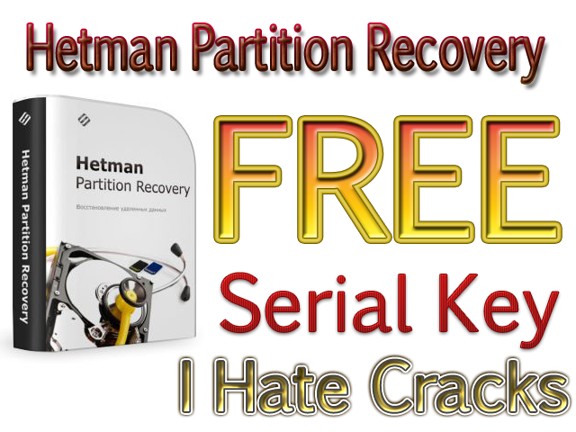 Hetman Partition Recovery 2.2 Serial Key
