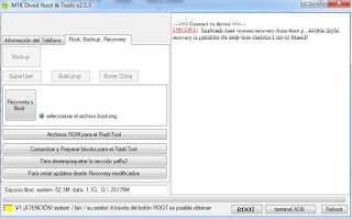 Realizar  una copia de  seguridad de la ROM  de  tu  teléfono Android