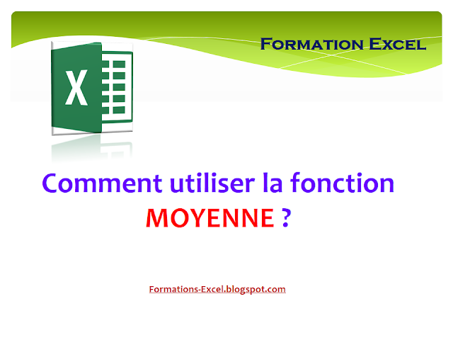 Fonction Moyenne Excel