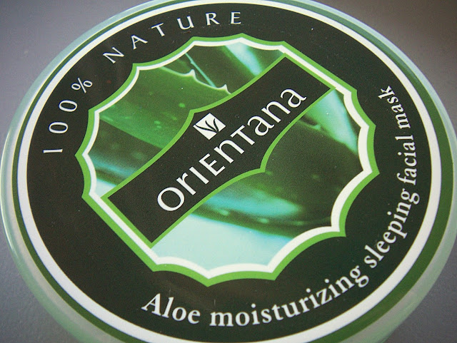 Orientana, Aloe moisturizing sleeping facial mask