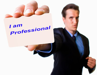 Definisi Profesional Menurut Versi Saya