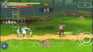 Download Game Naruto Shippuden Narutimate Accel 3 for PPSSPP