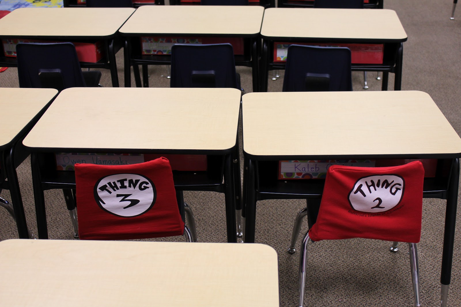 chair covers for classroom rubber foot protectors tangled with teaching dr seuss theme photos