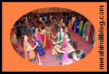 नवरात्रि पूरे भारत मे बड़े हर्षोउल्लास के साथ मनाया जाता है - navratri ka taiyohar