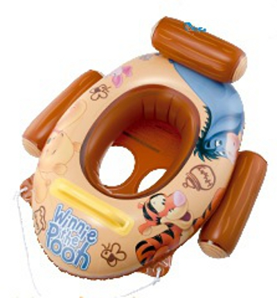 Disney Winnie The Pooh Baby Float Boat With Front Handle