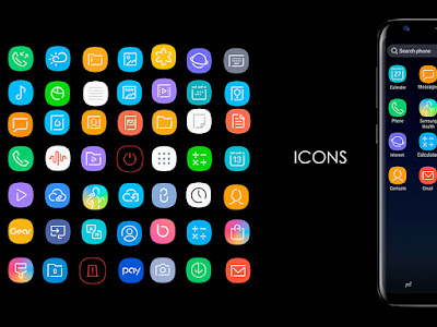 Infinity S9: A Samsung Galaxy S9 - Inspired Icon Set For Your KDE Desktop