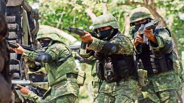 Tamaulipas es donde mas militares han muerto, 120 de los 496 muertos que hay en la guerra contra el narco
