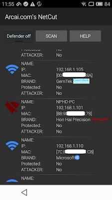 NetCut برنامج فصل الأنترنت