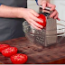 He Rubs Raw Tomato On A Cheese Grater, Now Keep Your Eye On The Bowl...