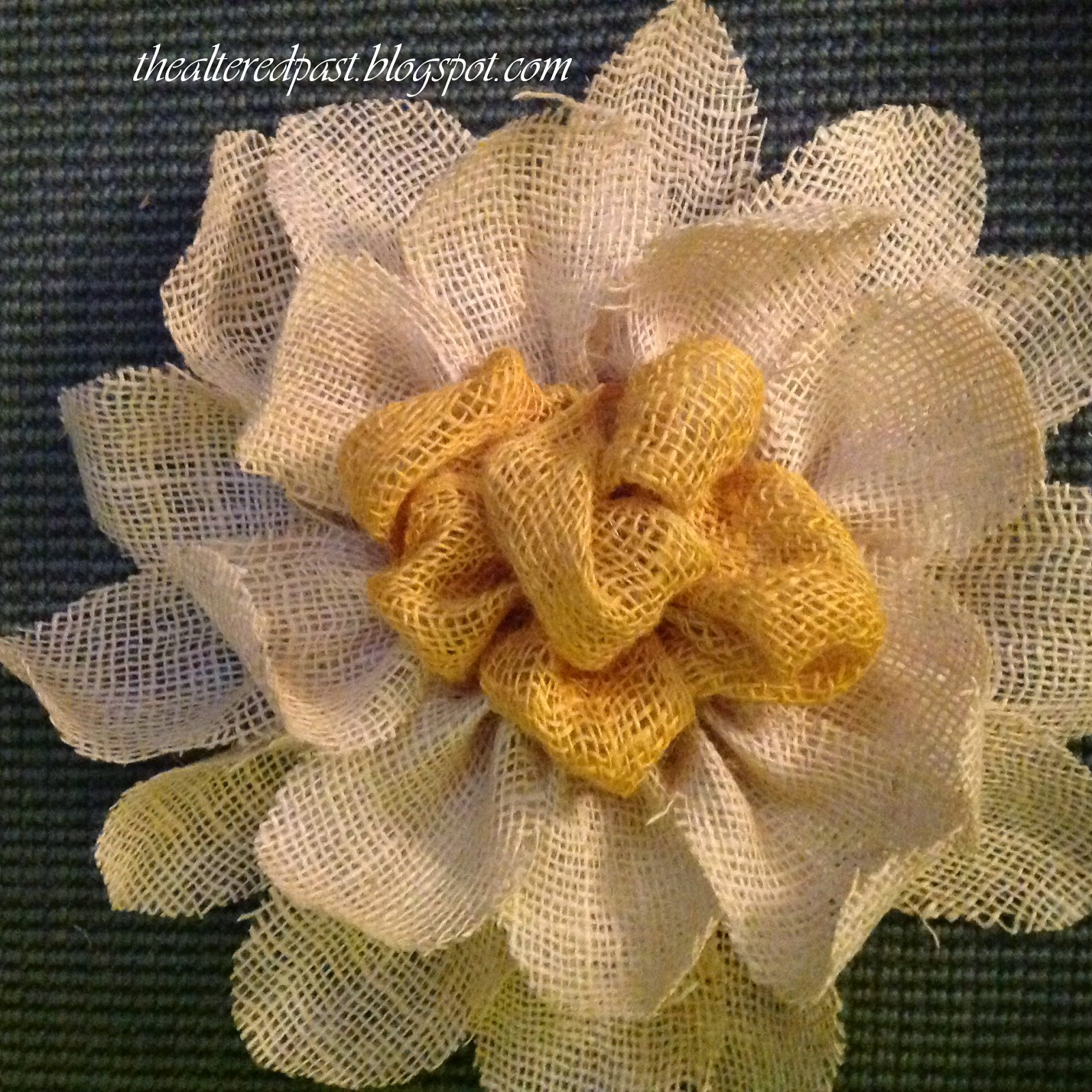burlap flower wall decor door wreath
