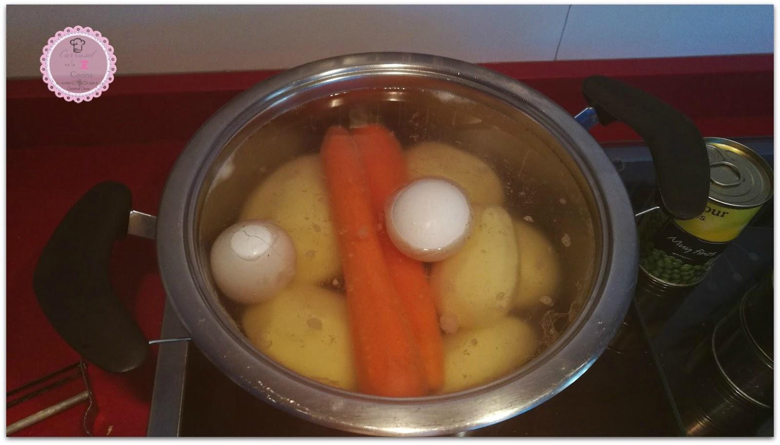 Carrusel en la cocina ensaladilla rusa - Tiempo para cocer patatas ...