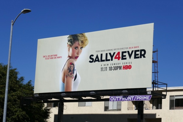 Sally4Ever season 1 billboard