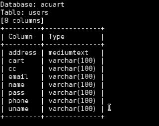 kolom Hacking Website menggunakan SQLMap Kali Linux