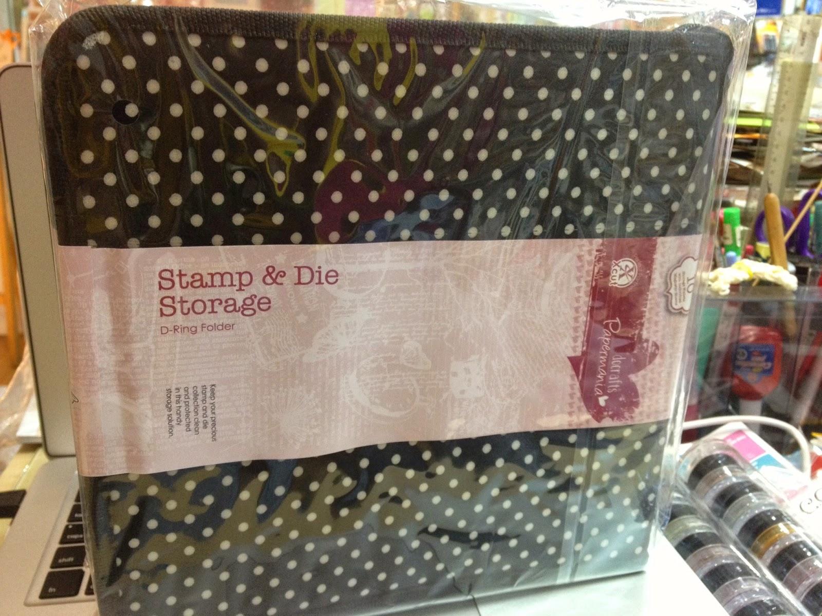 Scrapbook Memories Papermania Stamp Amp Die Storage