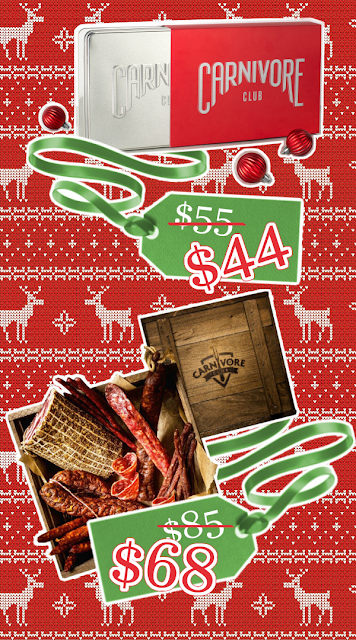 Carnivore Club Holiday Sale