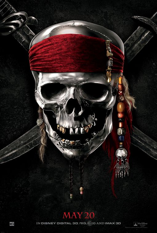 Pirates of the Caribbean On Stranger Tides poster