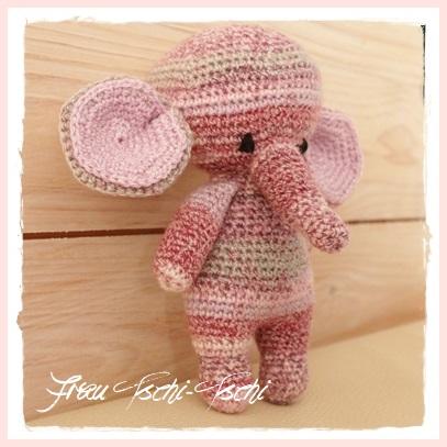 Frau Tschi Tschi Ein Amigurumi Elefant Für Baby Lilli Kostenlose