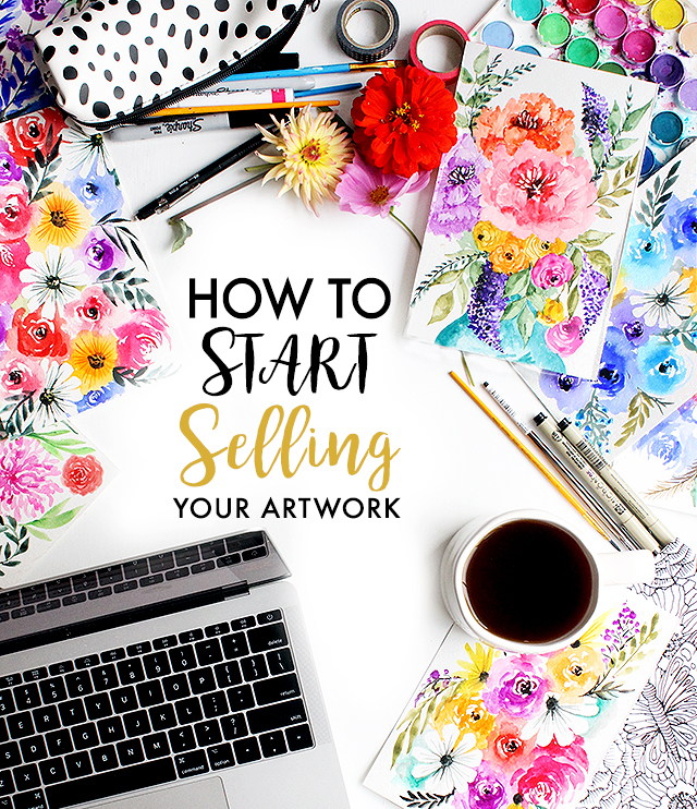Alisaburke how to start selling your artwork for Creative items to sell
