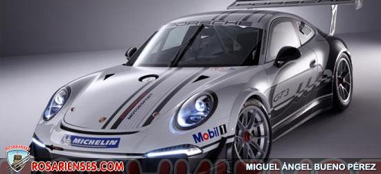 Porsche 911 GT3 Cup 2013 | Rosarienses, Villa del Rosario