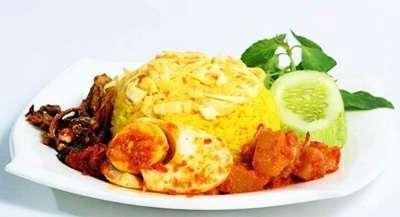 Cara Membuat Nasi Kuning di Magic com (Rice Cooker)