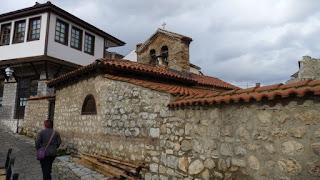 Sveti Nikolai Bolnichki o San Nicolás Bolnichki, Ohrid.