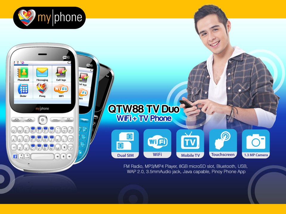 MyPhone QTW88 TV Duo