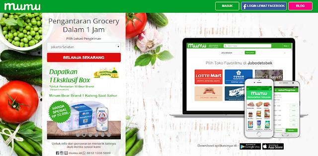Mudahnya Berbelanja Kebutuhan Groceries DI Mumu.id