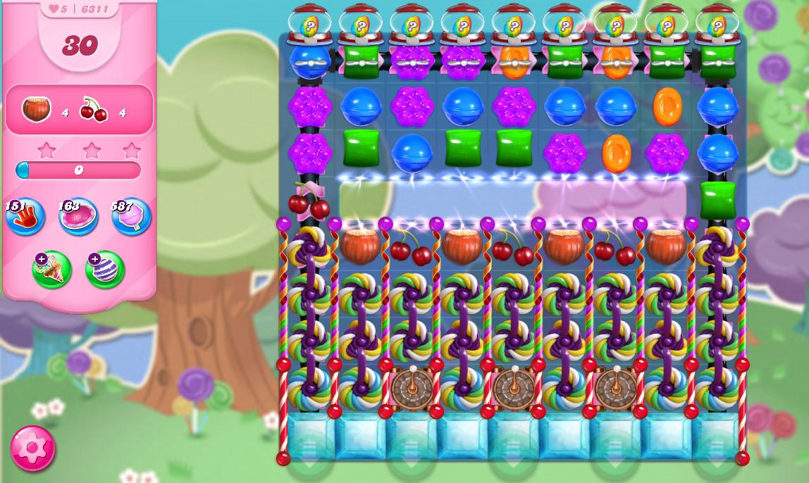 Candy Crush Saga level 6341