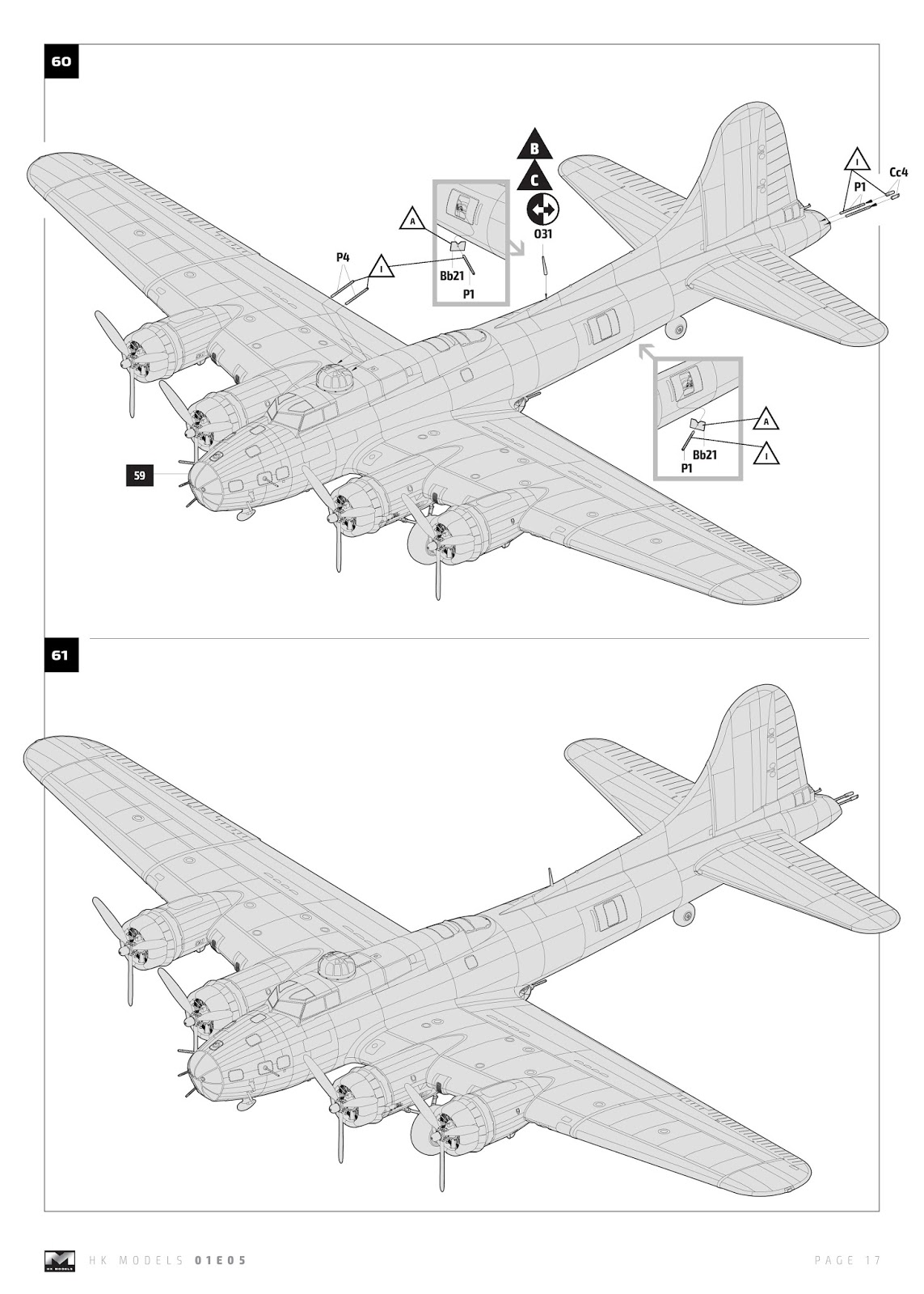 The Modelling News In Boxed B 17 E F Flying Fortress From Hong B17 Wiring Harness Instructions Include Way To Mount This Kit Flush Wall With Stand Included It Certainly Is One Show Of And Save On Shelf