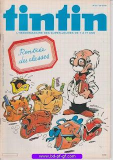 Tintin-numéro 35, année 38, 1983