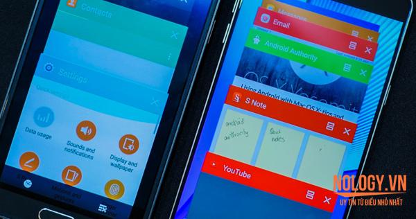 Samsung Note 5 cũ và Note 4 cũ giá rẻ
