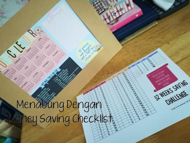 Menabung Dengan Money Saving Checklist