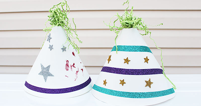 Fun & Easy DIY Party Hats Kids Can Make
