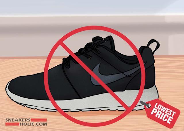 beza kasut adidas original dan tiruan