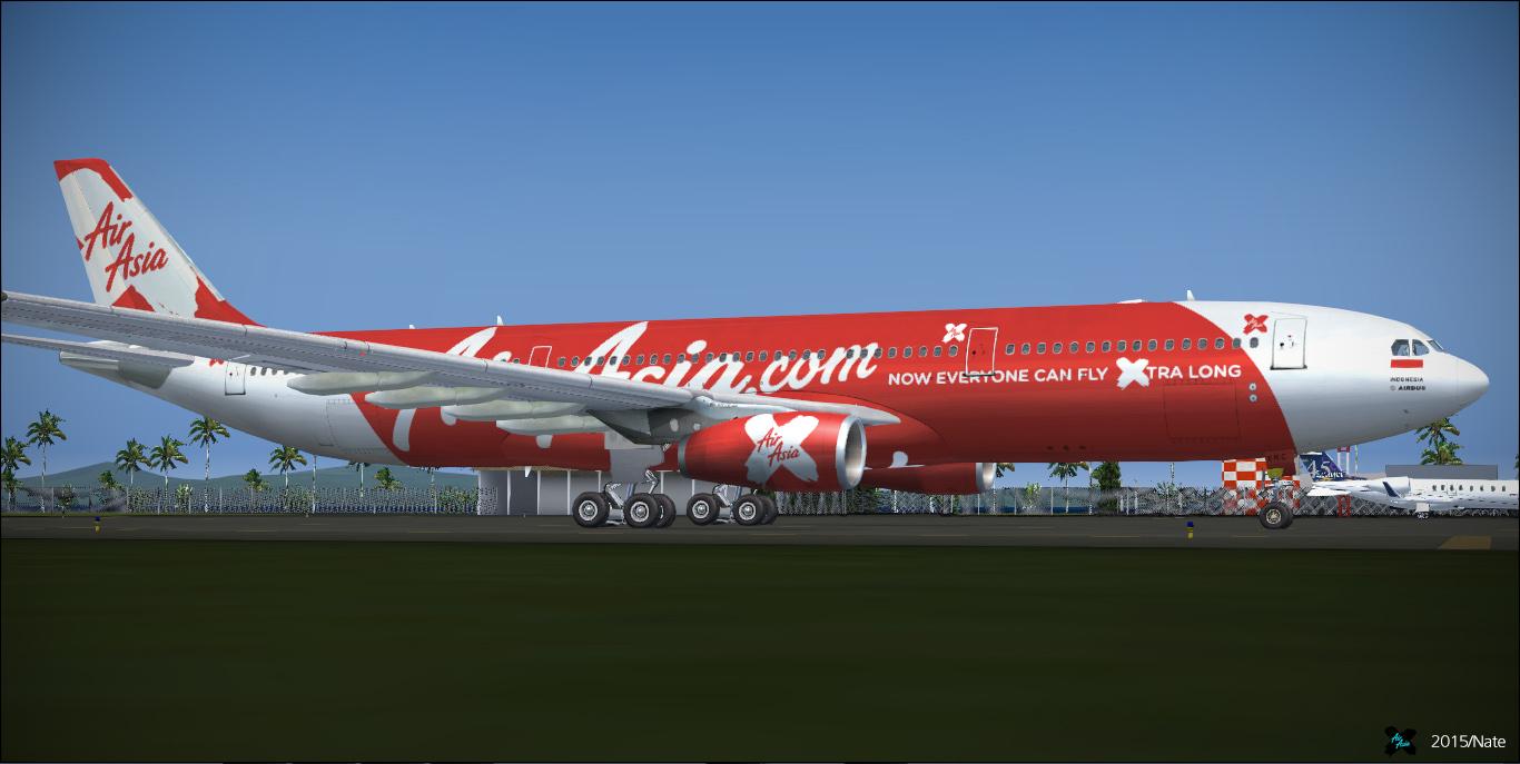 Airbus A330-343 / Indonesia AirAsia X / PK-XRA/C ~ justsomewritings