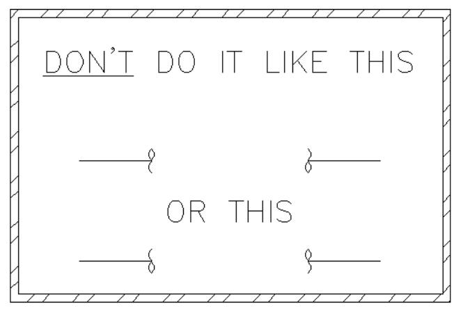 Mechanical Drafting 101: How to break pipe (piping plan, diagram, or